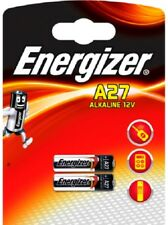 2X A27 Energizer 12Volt Battery (MN27 27A L828 EL812) Lighter Chime Remote Bell