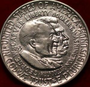 1953-s San Francisco Mint Washington/Carver Silver Comm Half