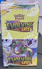 More details for pokemon sword & shield  evolving skies 18 pack booster box sealed new free p&p