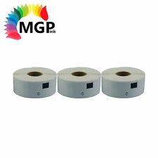 3 Refill Compatible for Brother DK11201 Address Label 29mmx90mm QL500/650 QL700