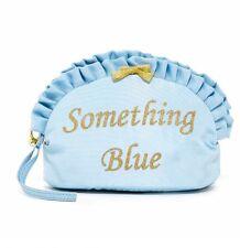 Betsey Johnson Something Blue Bridal Wristlet/cosmetic Bag
