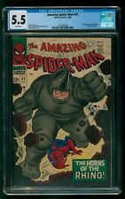 Amazing Spider-Man #41 Marvel Comics CGC FN Minus First appearance of The Rhino