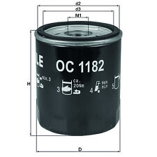 Mahle Oil Filter   Spin On OE Replacement OC1182