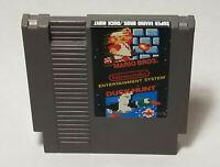 Super Mario Bros./Duck Hunt (Nintendo NES, 1988) No Seal Variant 3 Screw