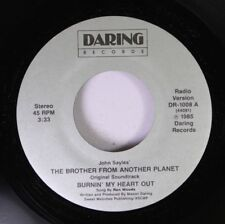 Hear! Modern Soul Rare Nm! 45 Ren Woods - The Brother Form Another Planet / Burn