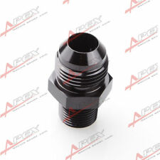 AN3 -3AN To 1/8'' NPT Straight Adapter Pipe Fuel Oil Air Fitting Black
