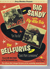 DVD - BIG SANDY & FLY-RITE TRIO + THE BELLFURIES - LIVE AT THE ROCKABILLY RAVE