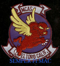 MCAS EL TORO US MARINES PATCH DISNEY RED BULL PIN UP 3D MAW F18 C130 CH53 MR 46