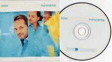 MIGUEL BOSE' CD SINGOLO 1 TRACCIA Morenamia MADE IN EU promo MORENA MIA 2001