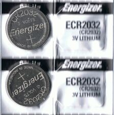 2 New ENERGIZER CR2032 Lithium 3v Coin Battery Australia Stock FAST SHIPPING