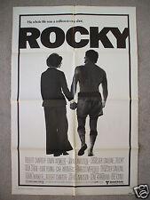 ROCKY * 1976 ORIGINAL MOVIE POSTER 1SH VINTAGE BALBOA SYLVESTER STALLONE BOXING