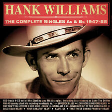 HANK WILLIAMS New Sealed COMPLETE SINGLES 1947 - 55 103 SONG 4 CD BOXSET