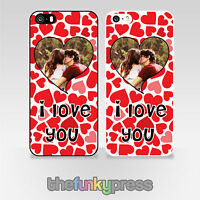 Personalised Phone Cover Case Custom Photo Print Create Your Own Valentines Day