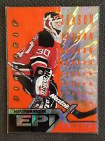1997-98 PINNACLE EPIX SEASON ORANGE #E8 MARTIN BRODEUR