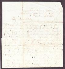 New listing Civil War Sailor ltr, James Watts, Us Navy Uss Steamer Flag Blockading Sc 10 62