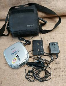 Sony Discman esp 2 D-E409CK Groove Portable Personal CD Player Walkman UNTESTED