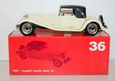 Voitures, camions et fourgons miniatures Rio pour Bugatti 1:43