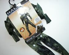 NWT NEW Halloween Costume S 4-6 Child Master Chief Halo 3D Muscles
