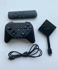 Amazon Fire TV Pendant 3rd Gen. #LDC9WZ 4K Used  with Game Controller