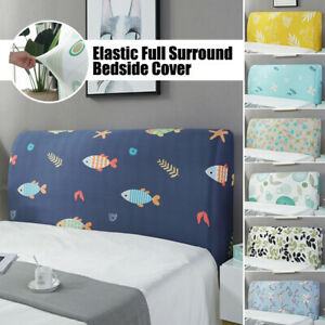 Dustproof Headboard Cover Stretchy Bed Head Slipcover Protector Covers For Home