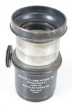 BAUSCH AND LOMB 12 INCH E.F BLACK COOKE TRIPLET VINTAGE BARREL LENS