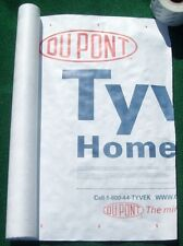 5' X 5' Tyvek Homewrap Cover Ground Sheet Fabric Tent Tarp Footprint Kite Bags