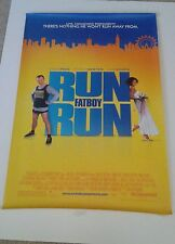 """RUN FATBOY RUN double sided movie poster 27""""x 40"""""""