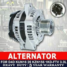 Alternator for Toyota Hilux D4D 3.0L Turbo Diesel 1KD-FTV KUN16R KUN26R KZN156