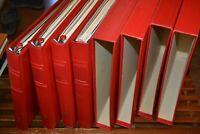 Vier Lindner-Ringbinder Bund 1949-1984 mit postfr.**Bund-Sammlung + viele Belege
