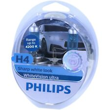 H4 PHILIPS WhiteVision ultra - LED Effekt 4200 Kelvin Scheinwerfer Lampe Box NEU
