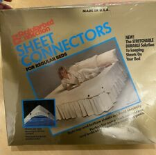 New old stock Hutton Regularbed Connection Sheet Connectors for Regular Beds