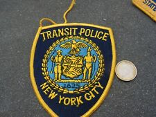 PATCH POLICE ECUSSON COLLECTION  USA   police new york transit police