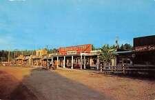 Rockerville South Dakota Gold Town Restaurant Vintage Postcard K39060