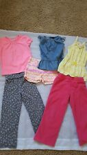 Girls Clothes 6 piece Lot Size 4t, mix brands, baby gap, carters, old navy
