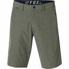 Fox Essex Tech Hose Short kurze Hose Pant Grün Khaki 2018 Gr. 34 *NEU*