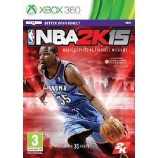 NBA 2K15 2015 Xbox 360 Game Microsoft Xbox 360 PAL Brand New
