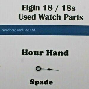 Elgin 18 / 18s Watch Hour Hand Spade