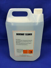 Driveway Cleaner 5ltr Industrial Strength High Concentrate (Best on the Market)