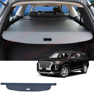 For Hyundai Palisade 2020-2022 Rear Trunk Cargo Luggage Cover Security Shield