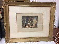 George Baxter - News fom home - Original 1853 colour print