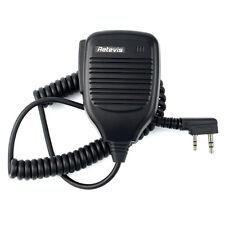 Handheld PTT Speaker Mic for Retevis H777, RT3,BaoFeng,Kenwood Radios Spain Ship