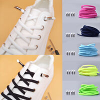 No Tie Lazy Shoelaces Elastic Semi-circular Flat Shoe Laces Sneakers Strings