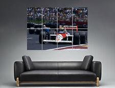 Ayrton Senna Legend Formula 1 Wall Art Poster Grand format A0 Large Print