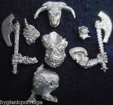 1997 Chaos Minotaur Lord Doombull Citadel Warhammer Army Hordes Beasts Beastmen