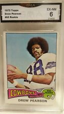 Drew Pearson 1975 Topps Rookie #65 EX-NM 6