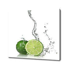 Limes splash canvas print picture wall art home decor free fast delivery