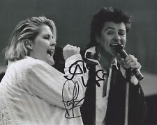 Alison Moyet & Paul Young Hand Signed 8x10 Photo, Autograph, Live Aid, Yazoo Alf