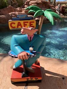 "Markus Pierson  ""Sunset Cafe""  Hand-signed and Numbered Statue with Certificate"
