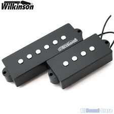 Wilkinson MWPB5 5-String Vintage Voice Bass Pickup Set for Precision Bass P-Bass