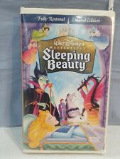 Sleeping Beauty (VHS, 1997, Limited Edition) Disney Masterpiece